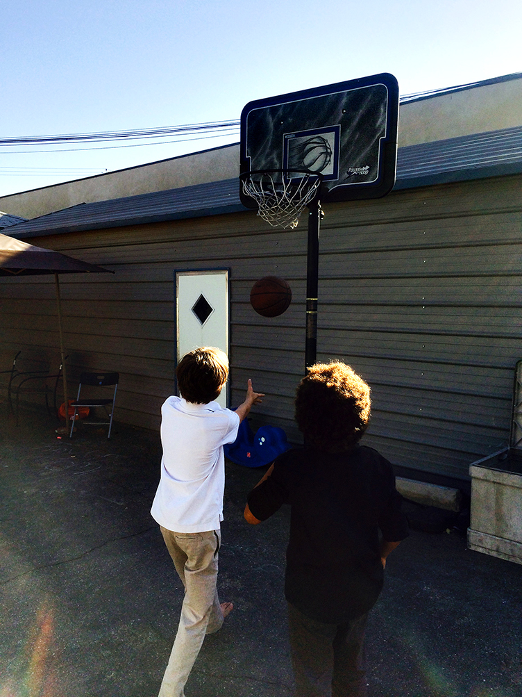 Basketball Hoop Outdoor Space